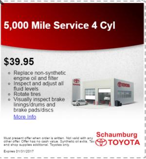 Toyota Service Coupon