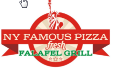 New York Famous Pizza & Fresh Falafel Grill
