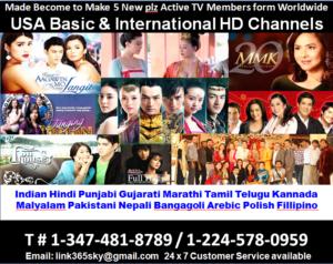 USA Basic & International HD Channels