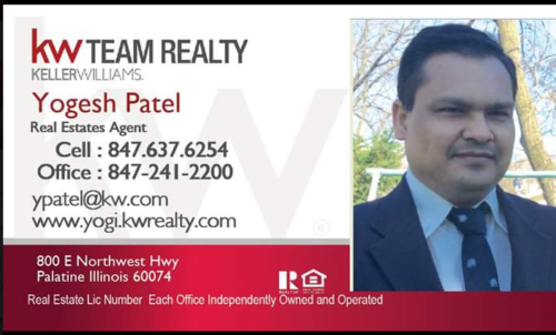 Keller Williams – Yogesh Patel