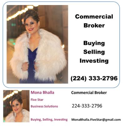 Berkshire Hathaway Home Services: Manjeet S. Bhalla / Five Star Business Solutions: Mona Bhalla