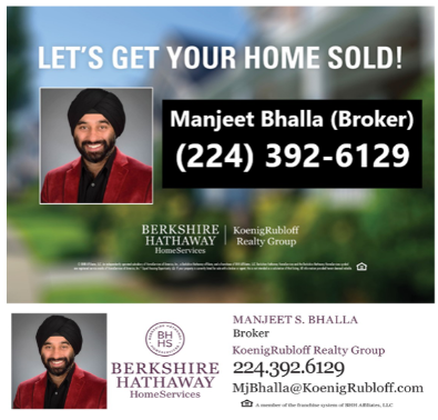 Berkshire Hathaway Home Services: Manjeet S. Bhalla / Five Star Business Solutions: Mona Bhalla